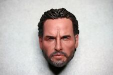 Custom 1/6 Scale The walking dead Rick Grimes Head Sculpt Fits Hottoys body