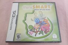 ThinkSmart: Kids 8+  Power Up Your Brain Nintendo DS Game Fast Shipping NEW