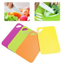 Non-slip Plastic Chopping Mats Vegetable Cutting Dicing Board Kitchen Tools FW