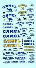 ancien decals decalcomanie divers camel 1/43