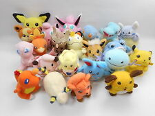 Pokemon Friends Plush Lot of 22 Vulpix Mareep Wooper Mini Doll Bandai Figure