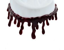 Thick Blood Drip Choker Necklace FX Latex Halloween Cosplay Vampire Horror Goth
