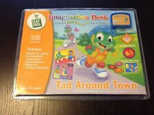 NEW LEAP FROG Imagination Desk Tad Around Town Color Book And Cartridge