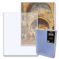 10 loose - BCW Brand 11 x 14 Photo Storage Topload Holder Display Protect