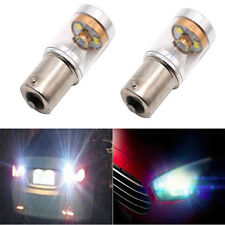 2x 30W 1156 P21W BA15S LED Backup Light Car Reverse Fog Bulb Lamp New
