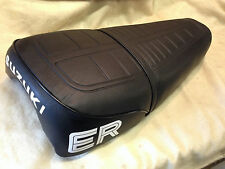 SUZUKI TS 125/185 ER SEAT COVER and STRAP BEST QUALITY