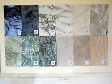 Beautiful Faux 'Marble' Floors for Diorama Rooms Many Varieties, Veining, Colors