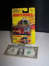 Matchbox Lesney Edition - Red Dennis Sabre Fire Engine Truck - 2011