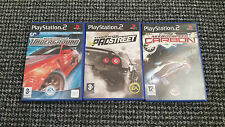 Playstation 2/PS2 Need For Speed Bundle/Joblot Tested And Complete