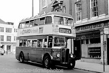 Ipswich Corporation 5 ADX5 AEC Regent Bus Photo Ref P411