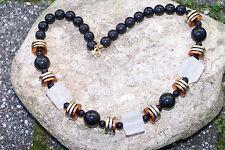 Halsketten - Perlenkette sehr elegant 44 cm NEU (7540+)