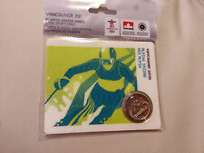 MULE 2008 CANADA ALPINE SKIING PETRO-CANADA OLYMPIC 25-CENT mint sealed