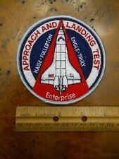 NASA SPACE SHUTTLE ENTERPRISE APPROACH & LANDING TEST PATCH (NEW)