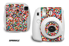 Custom Skin Sticker Wrap Decal For Fujifilm Instax Mini 8 Instant Camera SPRINKL