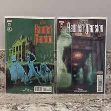 Marvel/Disney Kingdoms Haunted Mansion Comic Book #2 COMMON & PARK VARIANT set
