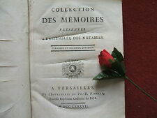 CALONNE ( DE )  COLLECTION DES MEMOIRES DES MEMBRES PRESENTES  A L' ASSEMBLEE .