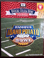NCAA College Football Famous Idaho Potato Bowl Patch 2011/12 Utah State Ohio