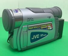 JVC GR-D30U Mini DV Video Camera Night-Alive Digital Zoom 700x Zoom