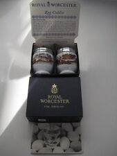 RARE BOX LEAFLET PAIR ROYAL WORCESTER EGG CODDLERS GAME SERIES GROUSE HARE small