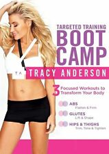 Toning EXERCISE DVD Tracy Anderson TARGETED TRAINING BOOTCAMP - 3 Workouts!