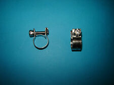 """BSA Oil Pipe Clips Stainless Steel S/S for 1/2"""" pipe"""