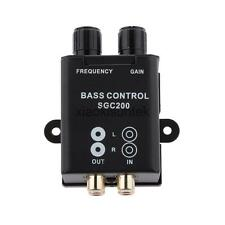 Car Truck Audio Bass Control Epicenter Frequency Knob for Amplifier Earphone