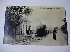 FRA165 - UFD de L'ISERE S.A - GRENOBLE TRAIN 1950s REPRO Early POSTCARD - France