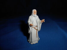 GANDALF WHITE WIZARD LORD OF RINGS Mini Figurine Kinder Surprise GERMANY Figure