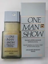 One Man Show By Jacques Bogart For Men Aftershave Balm 4.16 oz 120ml New