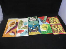 Lot 5 Vintage Early 1950s France Germany Travel Brochure / Maps