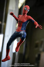 HOTTOYS 12'' Action Figure The Amazing Spider-Man 2.0 Collectible Model W Box