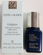 Estee Lauder Enlighten Dark Spot Correcting Night Serum .24oz./7ml. Travel Size