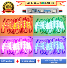 LUXLED Commercial Grade Multi Color LED Strip Lights Kit Plug n Play Light(20ft)