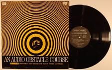 Shure An Audio Obstacle Course Trackability Test Record LP NM 1967 Shure TTR-101