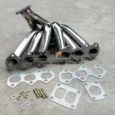 For Toyota Supra JZA80 Lexus IS300 3.0L 2JZ-GTE Stainless Steel Turbo Manifold