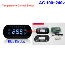 AC 110v 220V Blue LED Digital Temperature Meter Controller Thermostat Aquarium