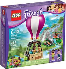 LEGO Friends - 41097 Heartlake Heißluftballon mit Noah und Andrea - Neu & OVP