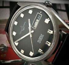 MILITARY VINTAGE ULYSSE NARDIN AUTOMATIC WATCH ALL STAINLESS STEEL FROM 1950s