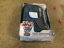 Nintendo 3DS Ardistel toque XL caso y Sylus Telaraña Estilo * Azul/Gris