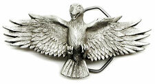 Raven Belt Buckle Bird Gothic Highly Detailed Authentic Great American Products