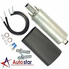 New Universal High Flow & Pressure External Inline 255LPH Fuel Pump Kit GSL392