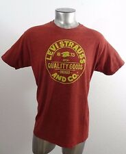Levi's Strauss Indigo men's t-shirt brick red L