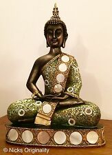 Large Thai Siam Buddha Buddhas Figure Sculpture Ornament  - Beautifully Detailed