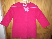 MUST SEE FABULOUS HOT PINK LOLA ET MOI COAT GIRLS 4 - 5 Excellent CONDITION
