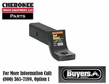 """Buyers Products 1803405, 2-1/2"""" Ball Mount, 3"""" Drop x 10"""", 12,000# Black"""