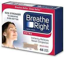 44 BREATHE RIGHT EXTRA NASAL STRIPS TAN STRIPS ONE SIZE