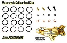 Ducati Monster M 620i M 620ie Brembo front brake caliper seal kit 2002 2003 2004