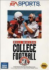 Sega Genesis • Bill Walsh College Football • Video Games