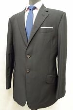 Men's Black Paul Smith Wool And Mohair Suit Jacket Blazer 38R SK745