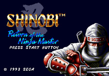 Shinobi III 3 Return Of The Ninja Master- Sega Genesis